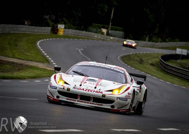 JMB Racing , Ferrari 458 Italia, LM GTE Am with Manuel RODRIGUES (PRT), Phillippe ILLIANO (FRA), Alain FERTE (FRA)  (PHOTO: Rolex / Stephan Cooper)