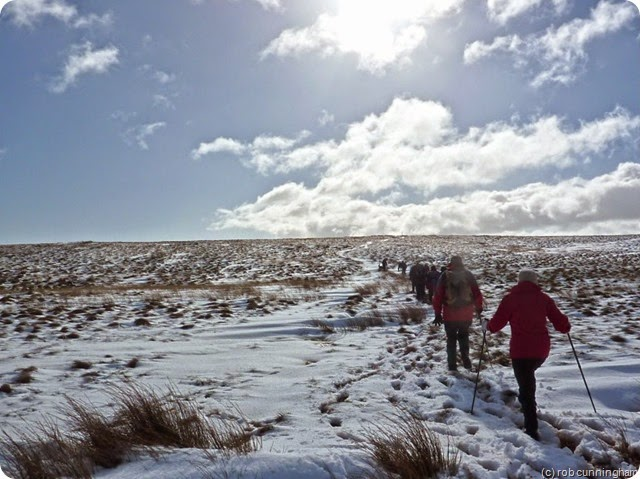 heading south on the pennine way
