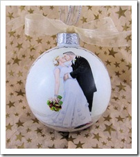 Beautiful Moment - finished ornament