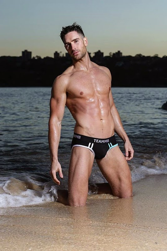 sexy guy in teamm8 briefs