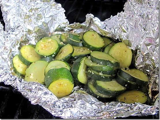 garlic and zucchini