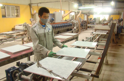 Sản xuất gạch CMC