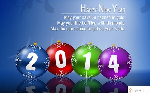 Cartoline Auguri Buon Anno Auguri di Buon Anno 2014