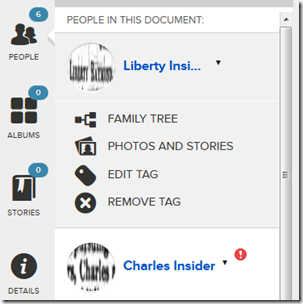 In Firefox, links to Family Tree were inoperable.