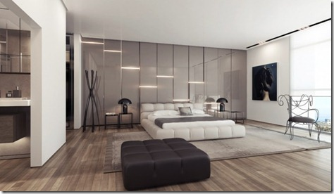 3-White-platform-bed-gloss-feature-wall-665x385