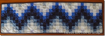 2014 Blue Bargello finished