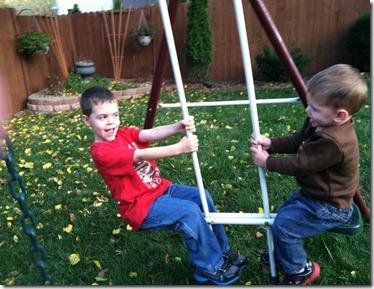 Zach & Nate glider