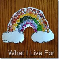 Rainbow Mosaic @ Whatilivefor.net