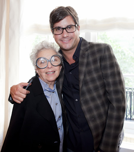 Sylvia Weinstock of gorgeous-cake fame and Anthony Luscia.
