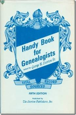 The Handy Book for Genealogists, 5th edition