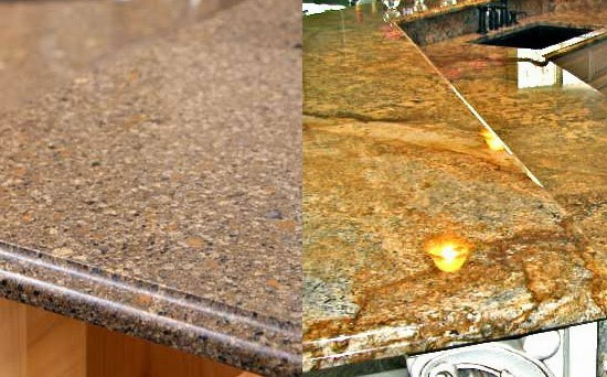 Quartz vs granite countertops casual cottage for Silestone vs granite