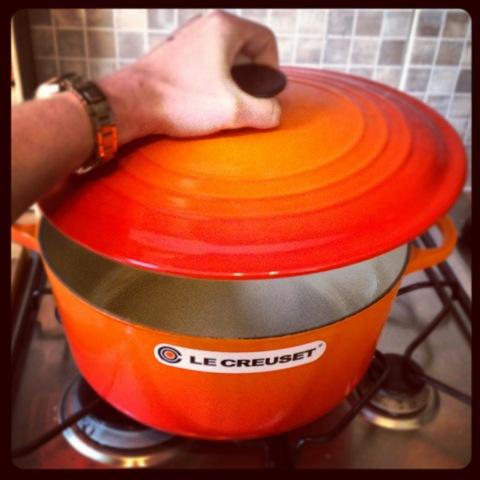 #153 - Le Creuset volcanic casserole dish
