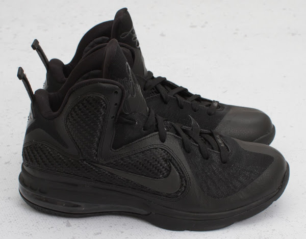 Upcoming Nike LeBron 9 8220Triple Black8221 8211 New Photos