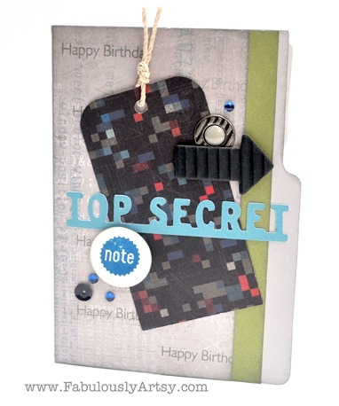 top secret card
