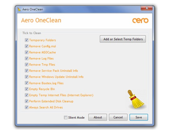 Optimize Windows Performance with Aero OneClean