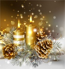 Paquete de 55 elegantes fondos navideños