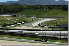 Grosjean nei test del Mugello 2012