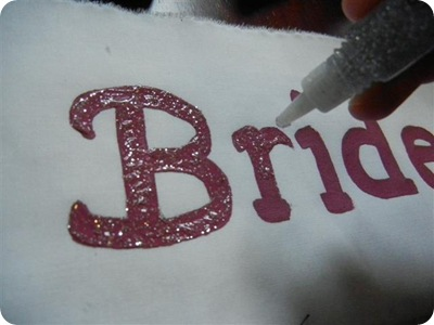 Things That I Make Love DIY Bachelorette Sash