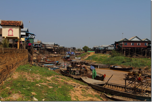 Floating village of Kompong Phluk, Cambodia