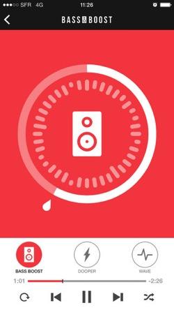 Bass Booster ミュージック ボリュームパワーアンプ1