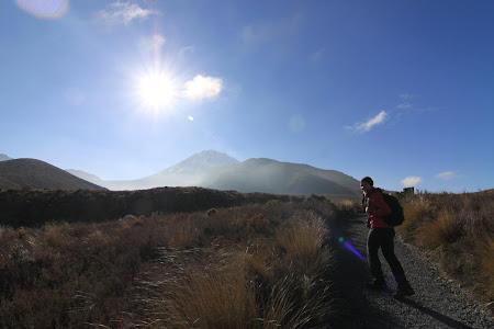 Tongariro Crossing - sa pornim la drum