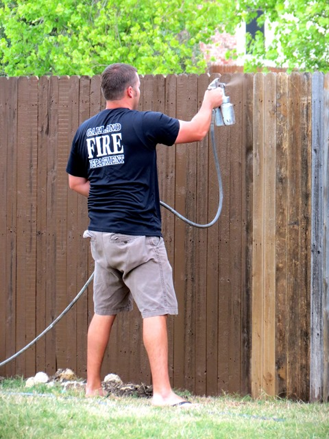 How to Build a New Fence Using Old Scraps www.stylewithcents.blogspot.com. 3