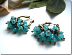 Beaded Turquoise Cluster