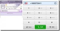 Yahoo Messenger appels gratuit