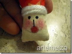 Шить - лицо Санта-Клаус-37