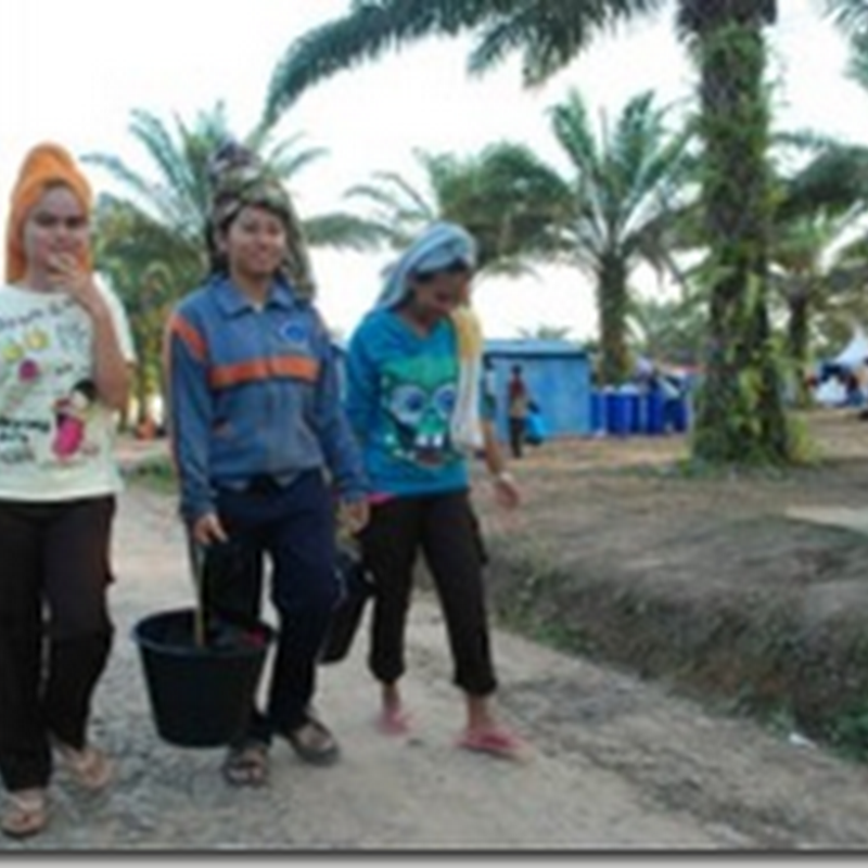 Aktivitas di Tenda Peserta Jamnas