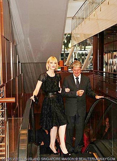 Louis Vuitton Island Singapore Maison Cate Blanchett
