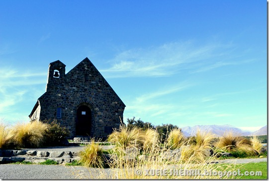 lake tekapo - church of the good shepherd
