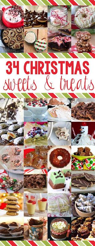 34 Christmas Treats  Sweets