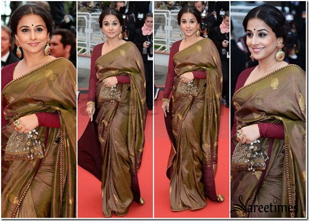 Vidya_Balan_Traditonal_Saree