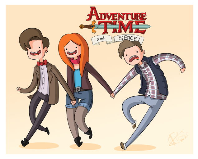 Adventure Time and Space by Alex Dempsey
