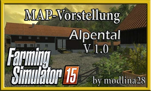 Farming simulator 2015 - Alpental v 2.1 GMK