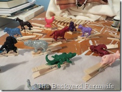 glitter animals -  The Backyard Farmwife