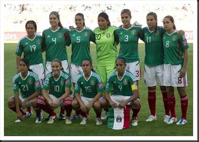 Selección Méxicana Mundial Alemania 2011
