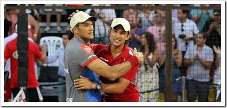 Nerone y Gutiérrez truncan la mágica racha de Díaz-Belasteguin y alcanzan la final.