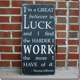 believer in luck