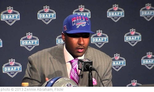 'EJ Manuel Buffalo Bills NFL Draft 1st Rd Pick QB' photo (c) 2013, Zennie Abraham - license: http://creativecommons.org/licenses/by-nd/2.0/