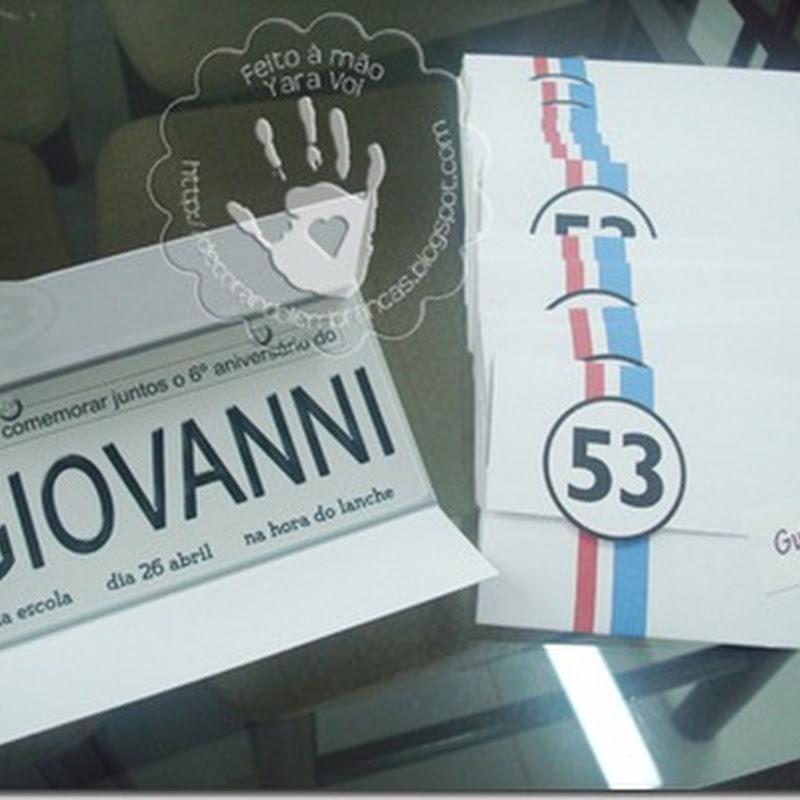 Festa Giovanni – 6 Anos – Herbie O Fusca