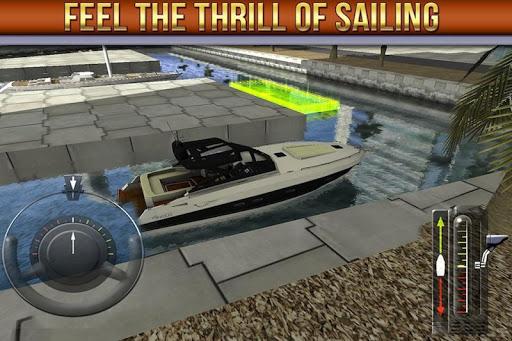 3D Boat Parking Simulator Game - screenshot