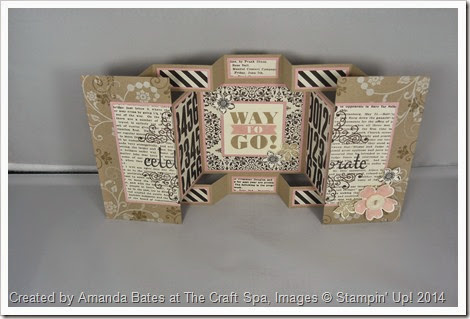 Double Display Birthday Card for Shelli, Amanda Bates at The Craft Spa (2)