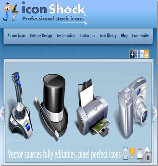 icon shock