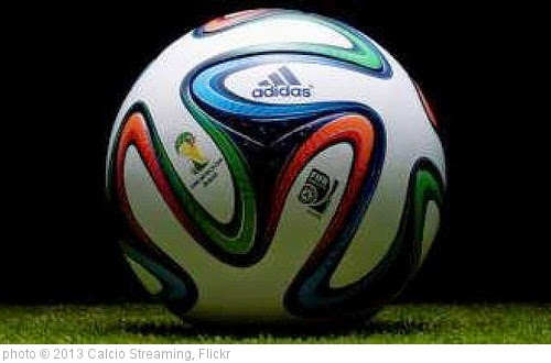 'Adidas ha presentato Brazuca, il nuovo pallone per i mondiali in Brasile' photo (c) 2013, Calcio Streaming - license: https://creativecommons.org/licenses/by/2.0/
