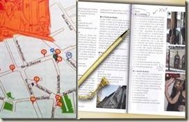 Le Guide de Paris branché en Métro aux éditions du Chêne