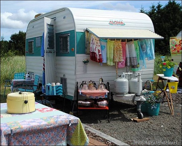 Kathy's Trailer - Outside
