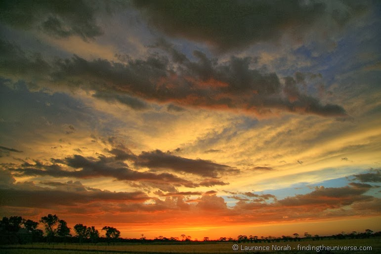 Sonnenuntergang im Outback - Westaustralien - Australien