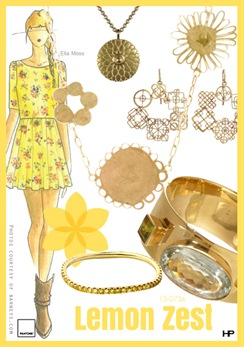 Pantone 2013 Spring Colors in Lemon Zest
